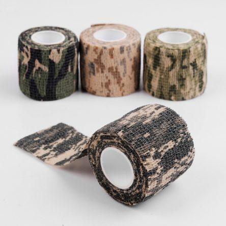 Vải quấn lens ống kính camo tự dính không keo – vải quấn ống kính