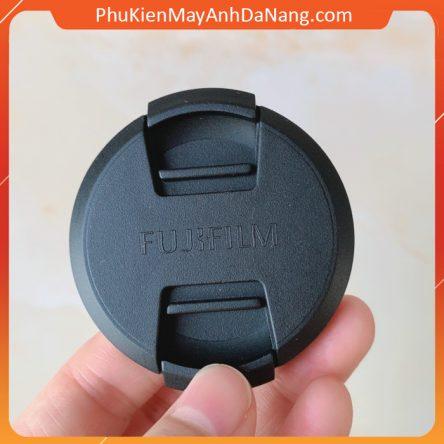 Lens cap Fuji Fujifilm nắp đậy bảo vệ ống kính máy ảnh phi 52mm 58mm dành cho ống kính Fujifilm