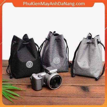 Túi đựng ống kính và máy ảnh thời trang Grass làm từ vải cao cấp có khả năng chống nước và chống sốc