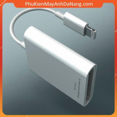 Đầu Đọc Thẻ OTG SD Cho IPhone, IPad – loại xịn kết nối ổn định