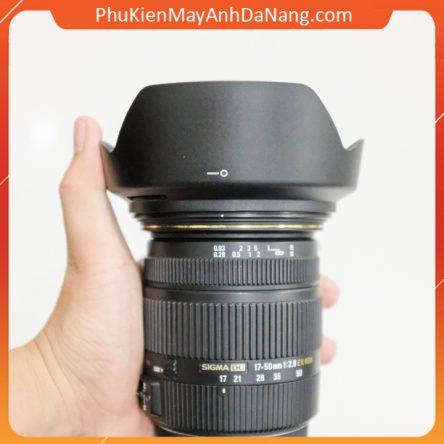 Loa che nắng cho ống kính Sigma 17-50mm F2.8, 24mm f/1.8, 28mm f/1.8 (Canon & Nikon) – thay thế LH825-03