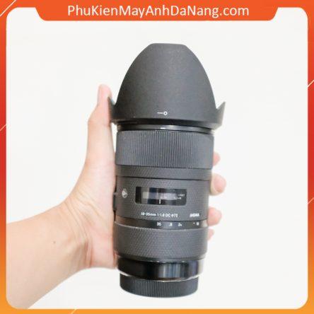 Loa che nắng lens hood cho ống kính Sigma 18-35mm f/1.8 Art DC HSM (Canon & Nikon) – thay thế LH780-06