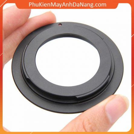 Ngàm chuyển lens M42 – Canon EOS Camera ( Black )