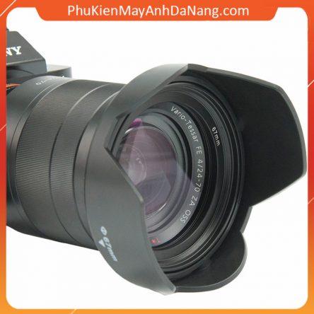 Lens hood Loa che nắng hoa sen vặn ren ống kính máy ảnh – Loại đời mới có thể đảo đầu 2021